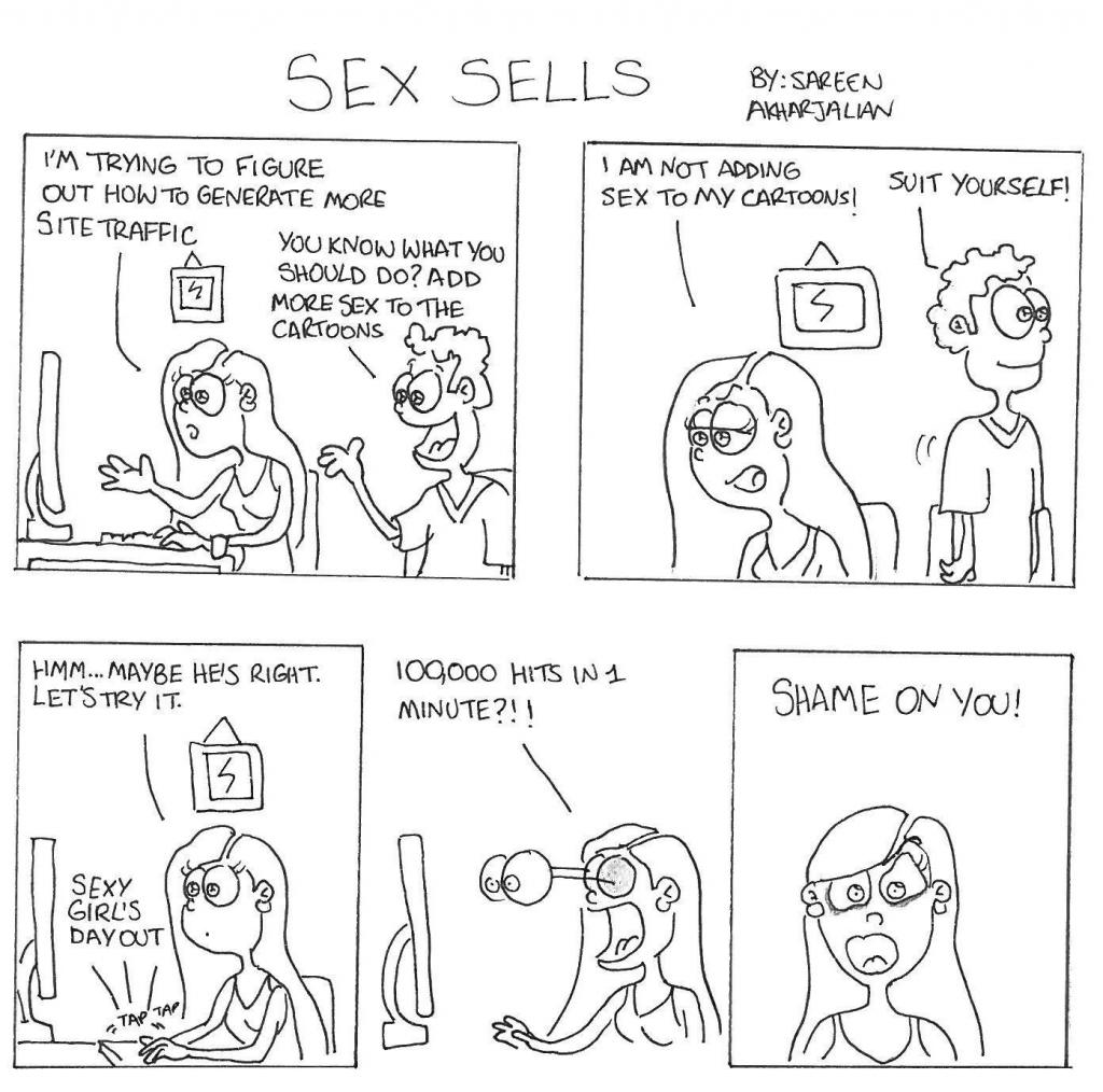Sex sells essay