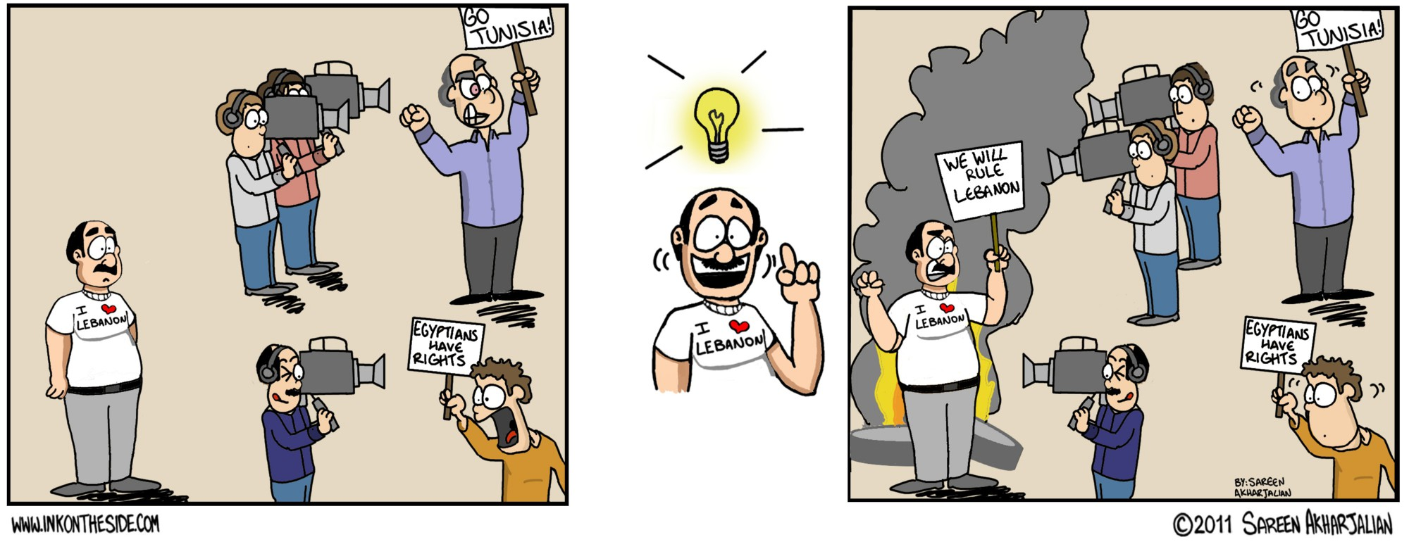 Reason for Lebanese Protests: Jealousy?!