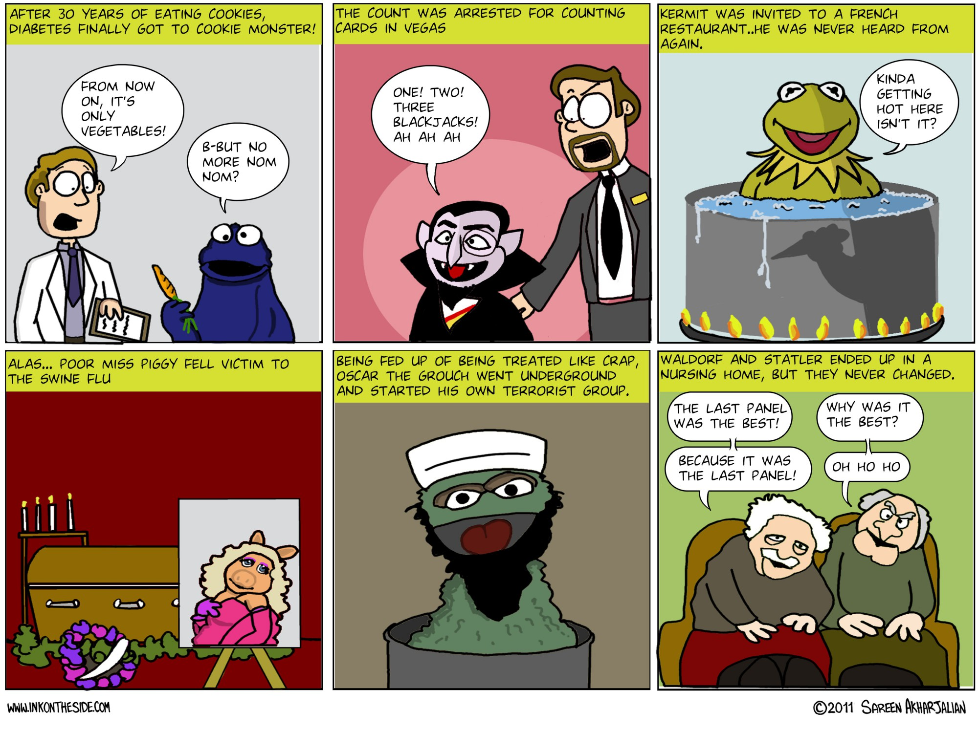 Where Are Our Beloved Muppets Now? (Do not show to kids)