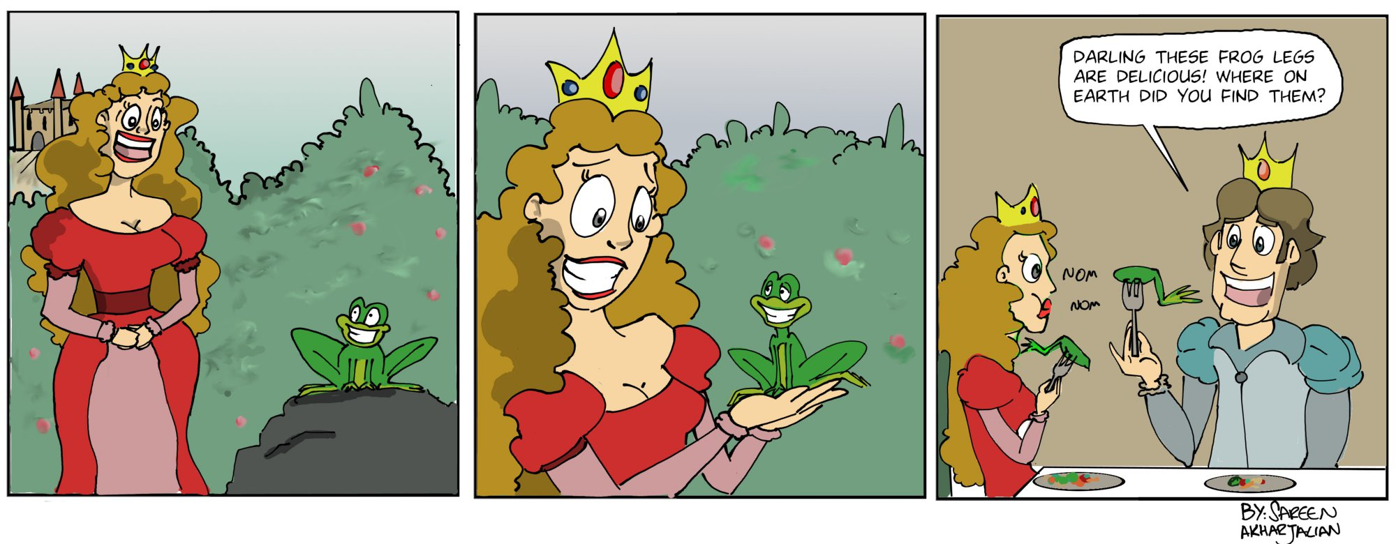 What is the fairy tale princess frog 51