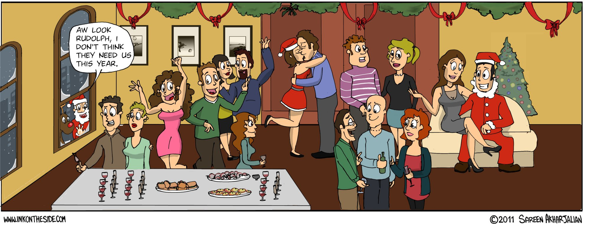 MERRY CHRISTMAS! (Another Christmas comic)