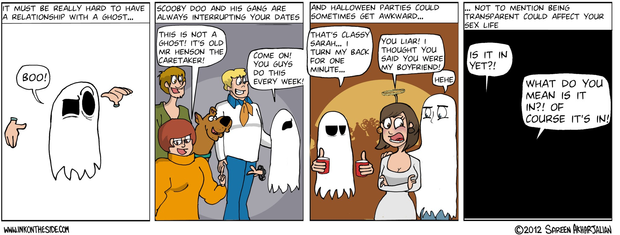 Never Date A Ghost!