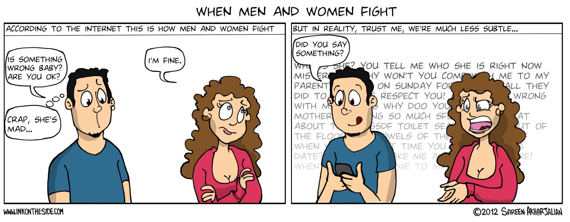 When Men and Women Fight