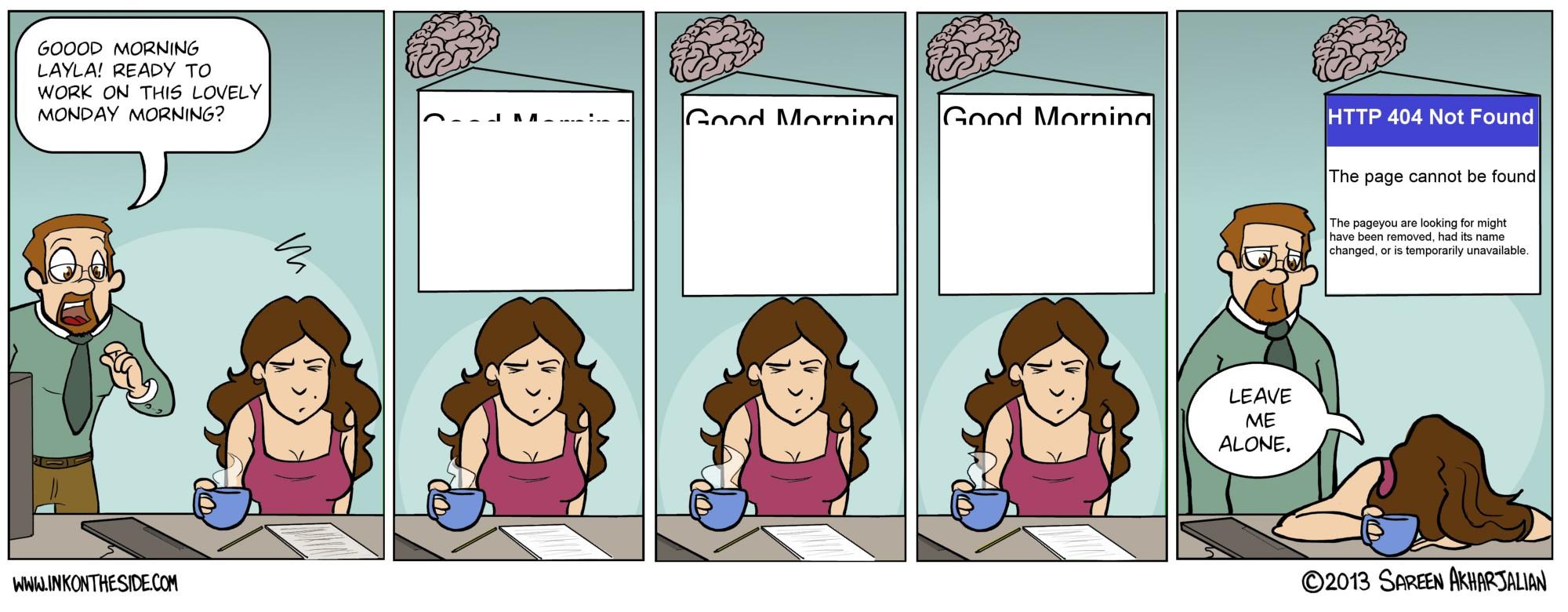 Every Damn Monday!