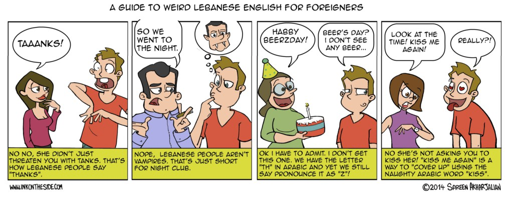 Weird Lebanese-English Guide for Foreigners