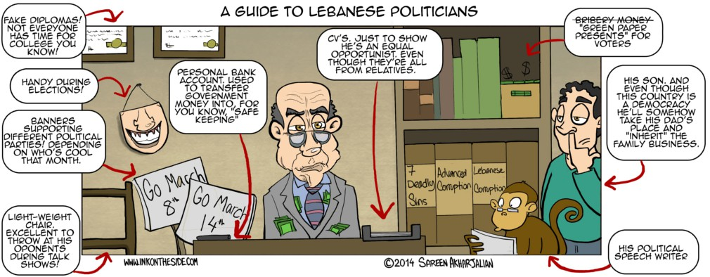 A Guide To Lebanese Politicians!