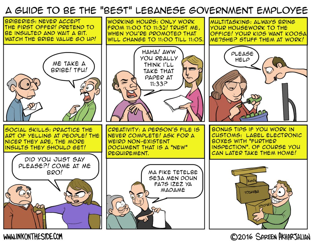 A Guide for Lebanese Government Employees